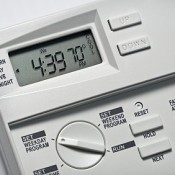 Control the times your central heating is on or off with a timer.