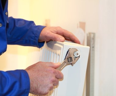 Your installer should be able to calculate the correct size of radiator for each room.