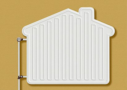 The most common type of heating in use today is central heating