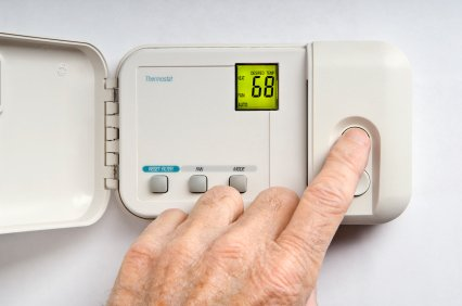 Just turning your thermostat down by one degree can save up to 10% on your heating bill..